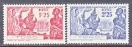 TOGO  268 -9    **   NEW YORKS  WORLD  FAIR - Unused Stamps