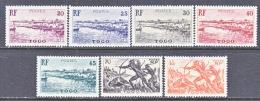TOGO  276 +  Fault   * - Unused Stamps