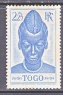 TOGO  290 +  Fault   * - Unused Stamps