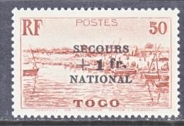 TOGO  B 7    * - Unused Stamps