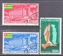 TOGO  C 31-3    (o)   INDEPENDENCE - Togo (1960-...)