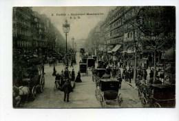 CPA  75  : PARIS   Bd Montmartre      A VOIR  !!!! - France