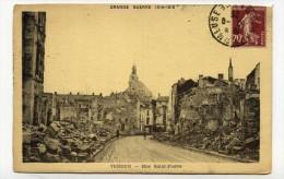 CP , MILITARIA , GUERRE 1914-1918 , VERDUN , Rue Saint-Pierre - Guerra 1914-18