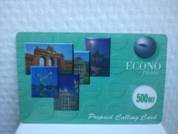 Econo 500 BEF With Barcode 2 Photo's Rare - Belgique