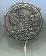 Zwemtocht, Beusichem, Culemborg, 1961. Holland, Vintage Pin, Badge - Zwemmen