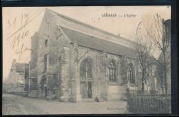 95 -- Louvres -- L'Eglise - Louvres