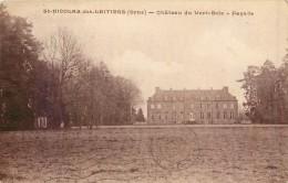 61 SAINT NICOLAS DES LAITIERS - Château Du Vert Bois - Façade - Sees
