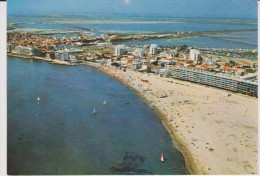 Gard :  LE  GRAU  Du  ROI  : Vue   1974 - Le Grau-du-Roi