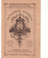 PARIS (75006) / PUBLICITES / CATALOGUES / Catalogue Général J.ROTHSCHILD Editeurs 13,rue Des St-Pères - Publicités