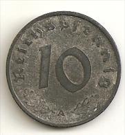 Allemagne. 10 reichspfennig 1941 A (1116)