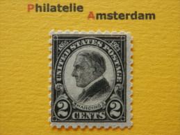 USA 1923, DEATH OF PRESIDENT HARDING: Mi 289, Type C, ** (set I) - Unused Stamps