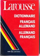 LAROUSSE DICTIONNAIRE FRANCAIS ALLEMAND / ALLEMAND FRANCAIS QUASI NEUF - Dictionnaires