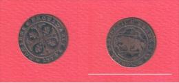 BERN      //  1/2 Batzen   1776  //   KM # 91     //  état  TB  // - Suisse