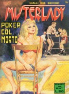 MISTERLADY  N°20  POKER COL MORTO - Libri, Riviste, Fumetti