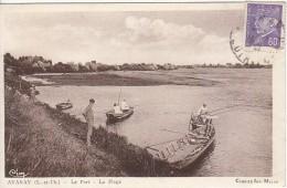 Avaray (Loir-et-Cher) Le Port - La Plage - FRANCO DE PORT - France