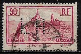 Y&T  N° 290   Perfore   L.H 83   Indice 1 - Francia
