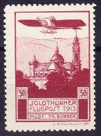 Flugpostmarke 1913 Vorläufer Zu# XI Solothurner Flugpost ** - Neufs