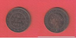 CANADA          //  1  Cent    1882 H     //   KM #  7   //  état  TTB  // - Canada
