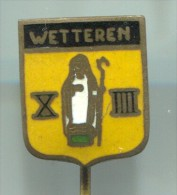 WETTEREN - Netherlands, Pin, Badge, Enamel, Vintage Pin, Badge - Città
