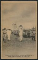 1942 A.E.F. Brazzaville France Libre General De Gaulle Postcard - A.E.F. (1936-1958)