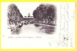 * Lille - Rijsel (Dép 59 - Nord - France) * (ND Phot, Nr 13) La Deule Et Le Pont Napoleon, Rare, Canal, CPA, Old - Lille