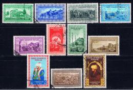 TR+ Türkei 1953 Mi 1348-54 1356-59 Eroberung Konstantinopels 1453 - 1921-... République