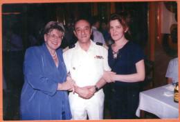 ADMIRAL VID STIPETIC - Commander Of The Croatian Navy ( Original Photo ) * Croatia Army * Croatie Kroatien Croazia - Documents