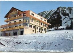 CPSM 74  THOLLON LES MEMISES HOTEL LES GENTIANES  Grand Format 15 X 10,5 - Thollon