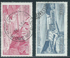Italia 1981 Usato - Lavoro - 6. 1946-.. Repubblica