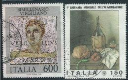 Italia 1981 Usato - Virgilio; Alimentazione - 6. 1946-.. Repubblica