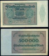 GERMANY - 500000 MARK 1923 - NEUF / UNC - Pick 88b - [ 3] 1918-1933 : República De Weimar