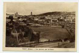 THIZY 69 RHONE VUE GENERALE COTE SAINT VICTOR - Thizy