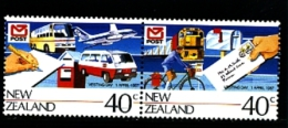 NEW ZEALAND - 1987  POST OFFICE VESTING DAY  PAIR  MINT NH - Nuova Zelanda