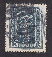 Austria, Scott #284, Used, Symbols Of Industry, Issued 1922 - 1918-1945 1a Repubblica