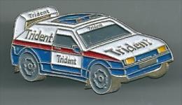 Pin Rally Car Trident - Pin