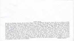 Lettre Premier Jour  No 622 SAINT LOUIS AU COMBAT DE TAILLEBOURG 10 NOV 1967 - FDC
