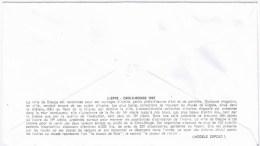 Lettre Premier Jour  No 623 LA CROIX ROUGE ET LA POSTE  16 DEC 1967 - FDC