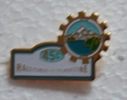 Pin's RALLYE DE MORZINE   COURSE AUTOMOBILE   P53 - Other