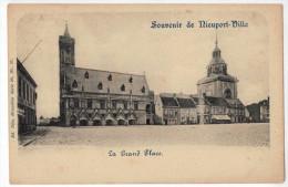 Souvenir De Nieuport-Ville : La Grand Place - Nieuwpoort