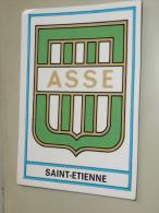 Image Autocollante Autocollant Figurine PANINI Football 1976, écusson Saint-Etienne - Panini