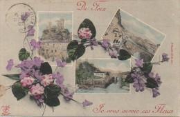 09 De FOIX  - Je Vous Envoie Des Fleurs - Foix