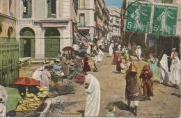 Algérie  ALGER Place Randon - Rue Marengo - Alger