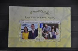 O 106 ++ AUSTRALIA 2014 ROYAL VISIT MNH ** - Ongebruikt
