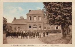 76 Fresne Le Plan. La Mairie, Les Ecoles - Autres Communes