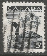 Canada. 1957 National Wildlife Week. 5c Used. SG 495 - 1952-.... Reign Of Elizabeth II