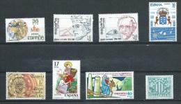 Espagne - 1984/5 - Y&T  2359 - 2370 - 2373/4 - 2389/91 - 2402  - Neuf  ** - 1931-Today: 2nd Rep - ... Juan Carlos I