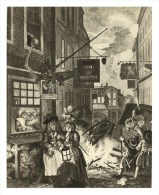 """RUSSIA - RUSSIE - RUSSLAND William Hogarth Series Time Of Day """"Night In London"""" - Andere Illustrators"""