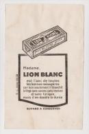 LOT DE 2 BUVARDS - LION BLANC Et MIROR - 2 Scans - - Collections, Lots & Séries