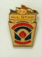 PIN´S BASEBALL  - ALL STAR LITTLE LIGUE - Baseball