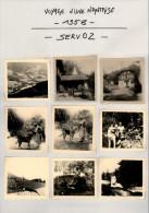 Voyage D´une Nantaise - 1958 - SERVOZ - Haute-Savoie - Autocar - Cascades - Lieux